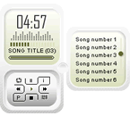 Panel Music Player